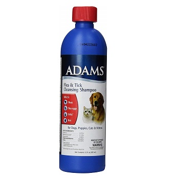Adams Flea and Tick Cleansing Shampoo