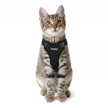 Eagloo Escape Proof Soft Mesh Cat Harness