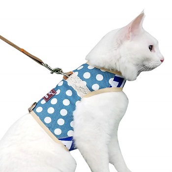 Escape Proof Cat Jacket Harness and Leash