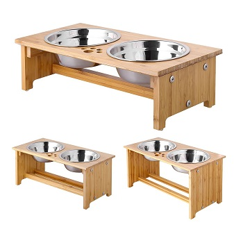 FOREYY Raised Pet Bowl and Elevated Bowl