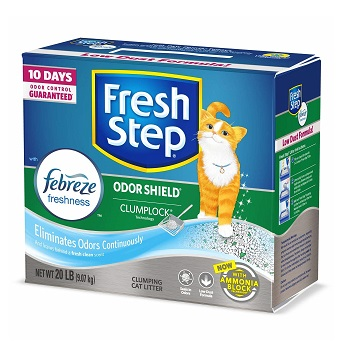 Fresh Step Scented Cat Litter for Odor Control