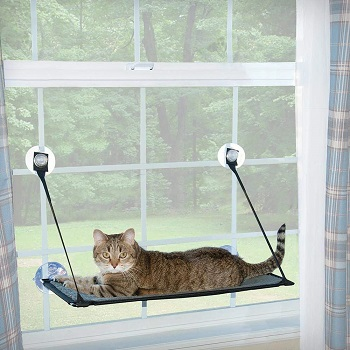 K&H Window Mount Kitty Sill - Single Level or Double Stack