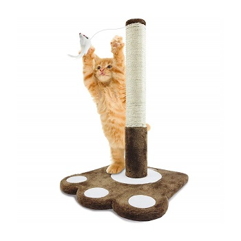 PARTYSAVING Cat Claw Scratching Sisal Post for Kittens and Cats