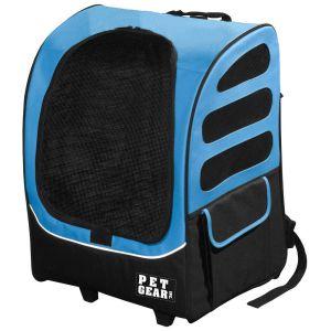 Pet gear backpack blue color
