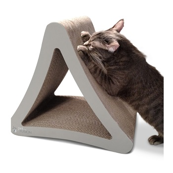 PetFusion 3-Sided Vertical Cat Scratching Post