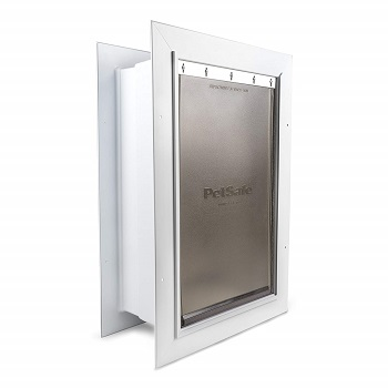 PetSafe Wall Entry Door with Telescoping Tunnel