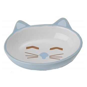 Petrageous Oval Pet Bowl for Kitty and Cats