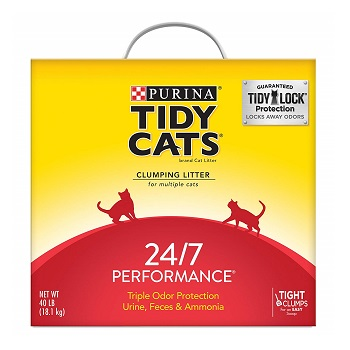 Purina Tidy Performance Cat Litter for Multiple Cats
