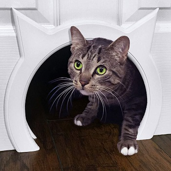 The Kitty Pass Interior Cat Door for Hidden Litter Box
