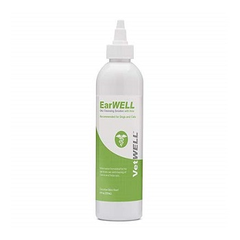 VetWELL Otic Rinse Cat Ear Cleaner