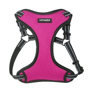 Voyager Fully Adjustable Step-in Mesh Pet Harness