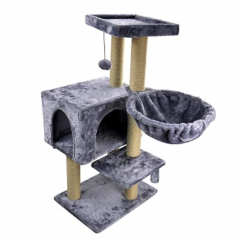 WIKI Cat Tree Scratching Toy Activity Centre Cat Tower Furniture
