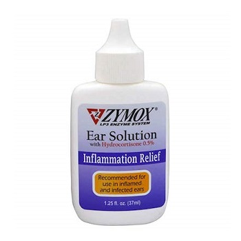 Zymox Ear Solution with 0.5-Percent Hydrocortisone
