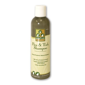 ecoPure Naturals Flea and Tick Treatment Shampoo