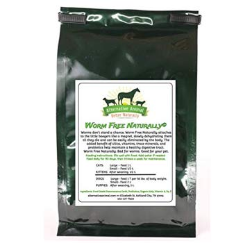 Alternative Animal Worm Free Natural Cat Wormer for All Worms