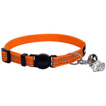 BINGPET Safety Nylon Reflective Cat Collar