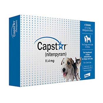 Capstar Fast-Acting Oral Cat Flea Treatment