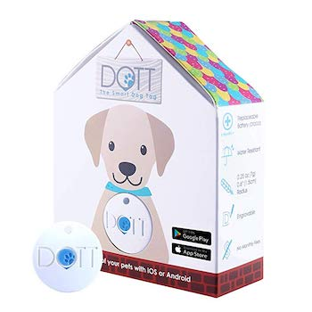DOTT The Smart Pet Tag - Bluetooth Tracker for Cats