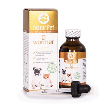 NaturPet D Wormer 100% Natural, Safe, Effective Dewormer
