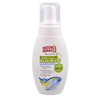 Nature's Miracle Nature's Miracle Just for Cats Allergen Blocker Foaming Shampoo