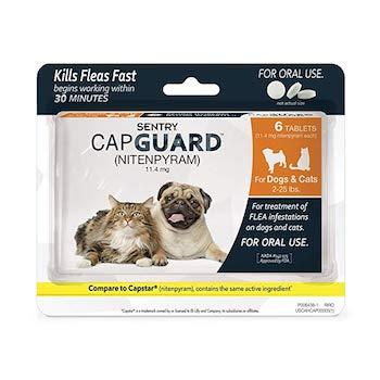 Sentry Capguard Oral Flea Medication for Cats
