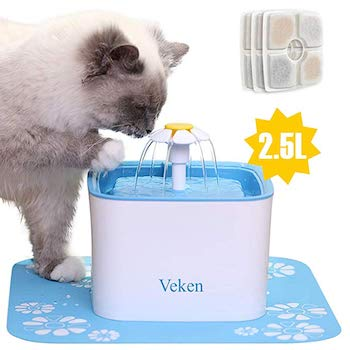 Veken Automatic Pet Fountain