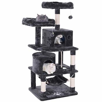 Bewishome Cat Condo Kitten Activity Tower