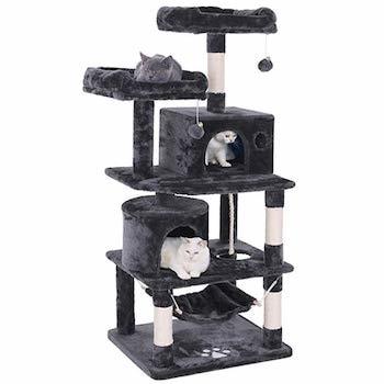 Bewishome Cat Condo Kitten Activity Tower