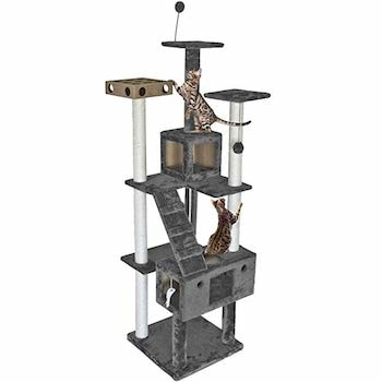 Furhaven Pet Cat Tree and Condo