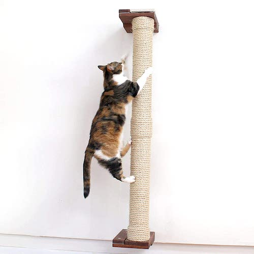 Cat Tree Plan with PVC pipe and sisal rope