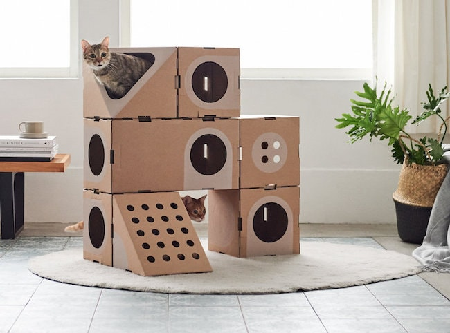 Cat Tree from Stacks