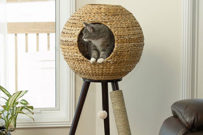 tripod like Cat Tower plan