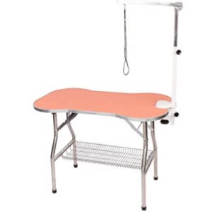 Flying Pig Cat Bone Pattern Grooming Table