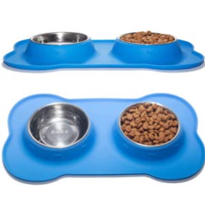 KEKS Non-Skid Bowls with Silicone Mat