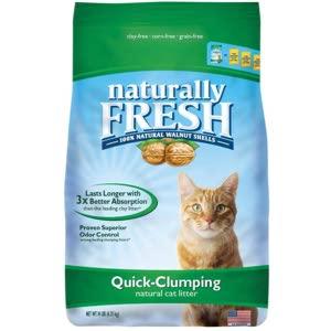 Naturally Fresh Walnut Clumping Cat Litter
