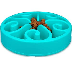 wangstar Slow Pet Bowl Slow Feeder for Cats