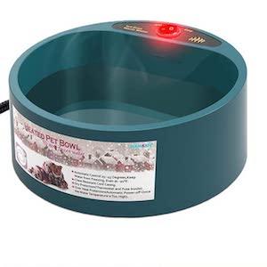 Namsan Heated Cat Water Bowl