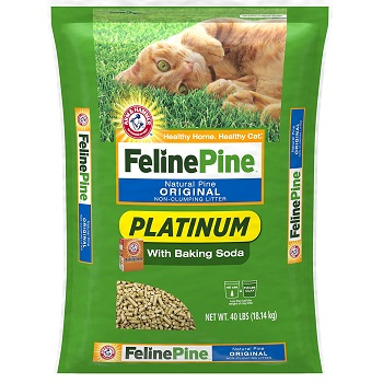 best feline natural pine litter